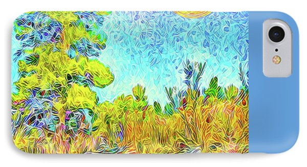 IPhone Case featuring the digital art Harvest Moon On Crystal Mountain - Boulder County Colorado by Joel Bruce Wallach