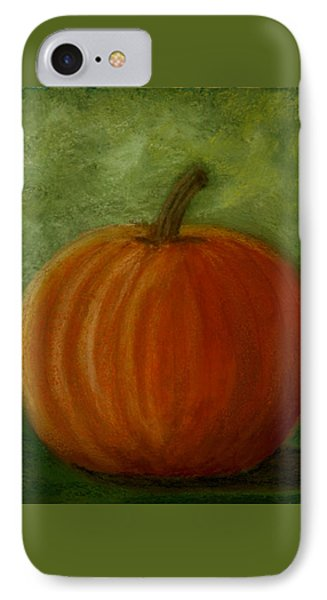 Harvest Moon Pumpkin IPhone Case by Cheryl Albert