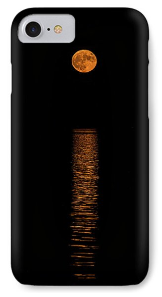IPhone Case featuring the photograph Harvest Moonrise by Paul Freidlund