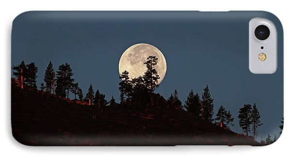 Harvest Moonset Phone Case by Donna Kennedy
