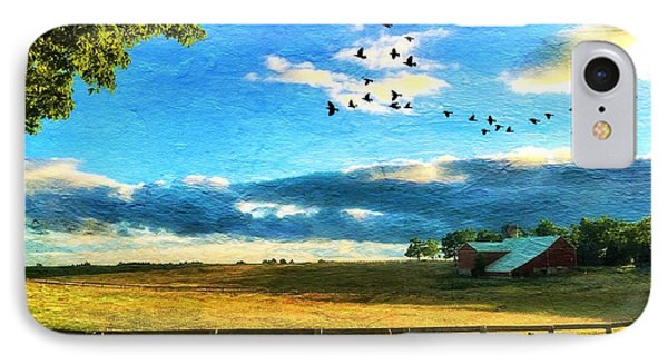 Harvest Time IPhone Case by Anthony Djordjevic