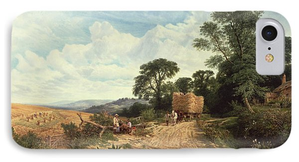 Harvest Time IPhone Case by George Vicat Cole