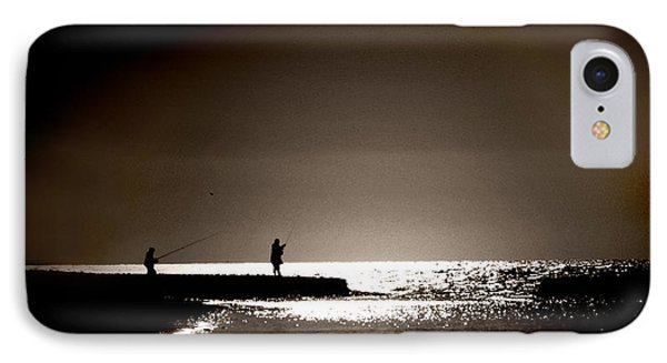 IPhone Case featuring the photograph Harvester Of The Sea by Martina  Rathgens