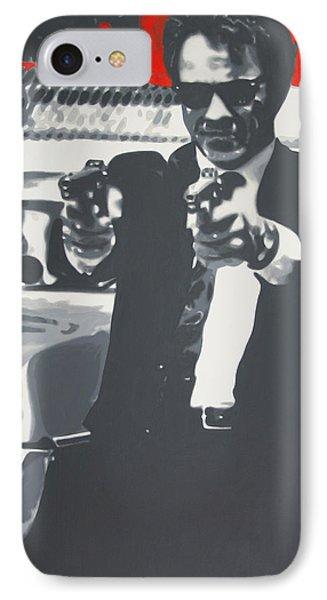 Mr White IPhone Case by Luis Ludzska