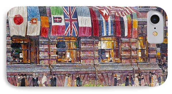 Hassam: Allied Flags, 1917 Phone Case by Granger