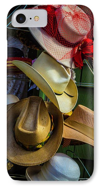 Hat Rack IPhone Case by Garry Gay