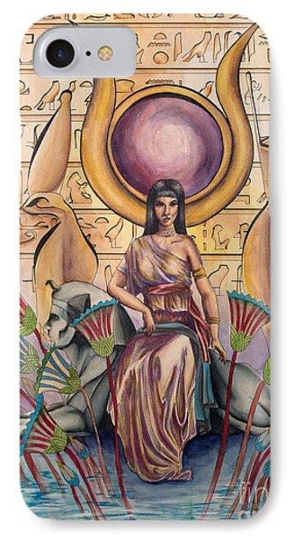 Hathor IPhone Case by Georges Loewenguth
