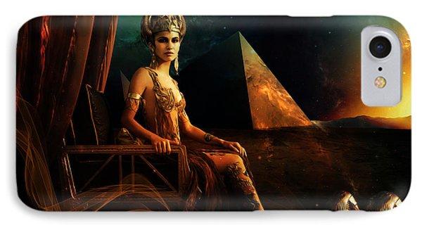 Hathor IPhone Case by Pharaoh Laboa