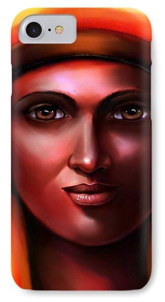Hathor- The Goddess IPhone Case by Carmen Cordova