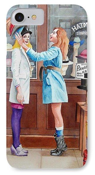 Hatmakers Phone Case by Charles Hetenyi