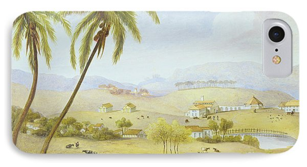 Haughton Court - Hanover Jamaica IPhone Case by James Hakewill