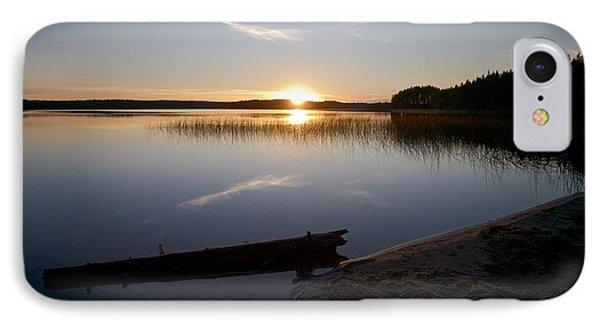IPhone Case featuring the photograph Haukkajarvi Evening by Jouko Lehto