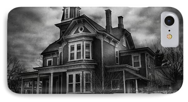 Haunted - Flemington Nj - Spooky Town Phone Case by Mike Savad