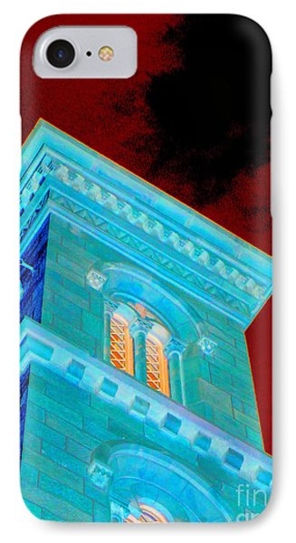 Haunted Castle IPhone Case by Randall Weidner