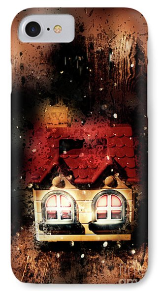 Haunted Doll House IPhone Case by Jorgo Photography - Wall Art Gallery