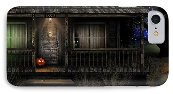 Haunted Halloween 2016 IPhone Case by Anthony Citro