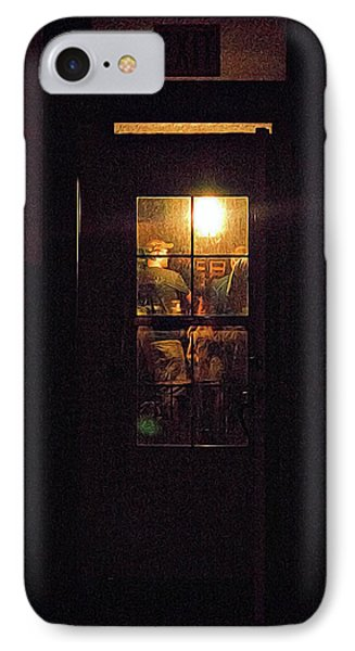Haunted House 4 Phone Case by William Horden