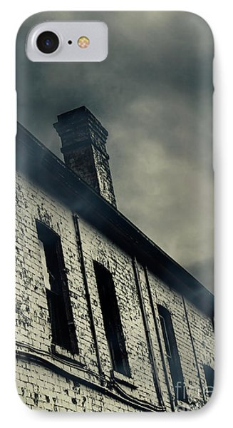 Haunted House Details IPhone Case