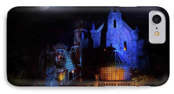 Haunted Mansion At Walt Disney World IPhone Case by Mark Andrew Thomas