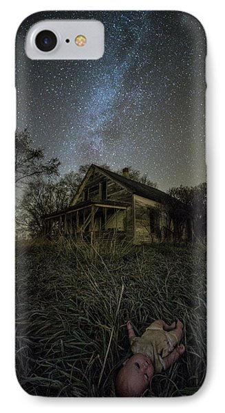 IPhone Case featuring the photograph Haunted Memories by Aaron J Groen
