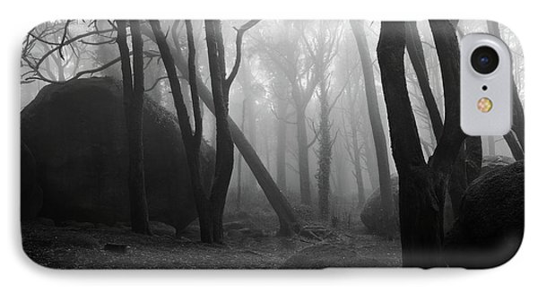 IPhone Case featuring the photograph Haunted Woods by Jorge Maia