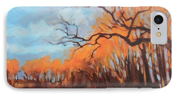 IPhone Case featuring the painting Haunting Glow by Andrew Danielsen