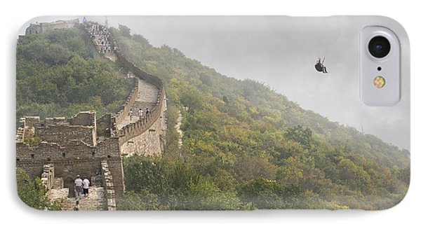 Haunting Great Wall IPhone Case by Betsy Knapp