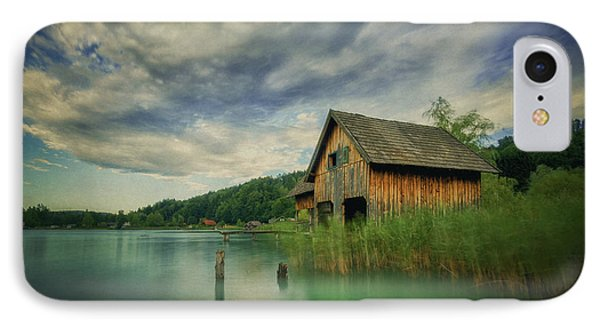 Haus Am See IPhone Case by Martin Podt