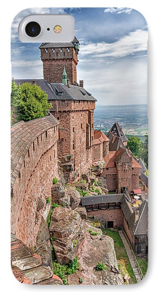 Haut-koenigsbourg IPhone Case by Alan Toepfer