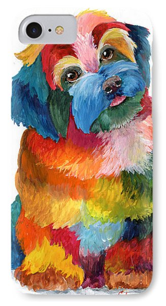 Hava Puppy Havanese IPhone Case by Sherry Shipley