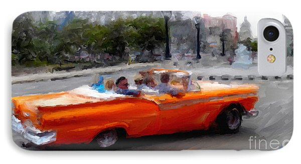 Havana Cars Dos IPhone Case by Sergio B