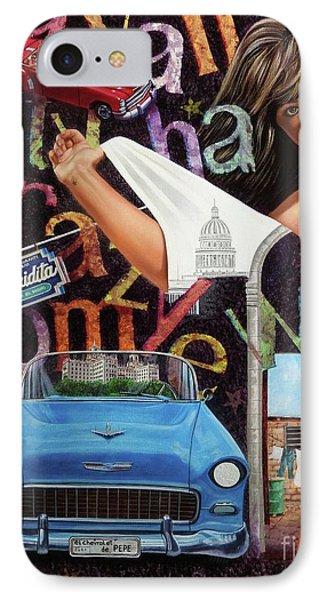 Havana City IPhone Case by Jorge L Martinez Camilleri