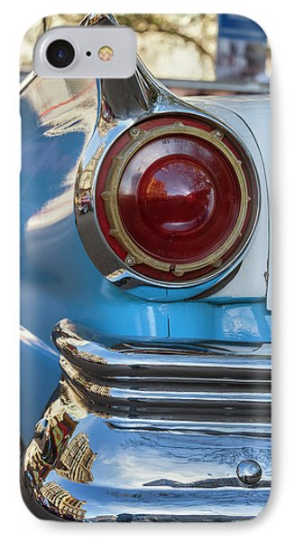 IPhone Case featuring the photograph Havana Cuba Vintage Car Tail Light by Joan Carroll