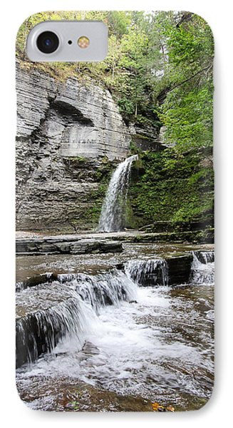 Eagle Cliff Falls II IPhone Case by Trina  Ansel