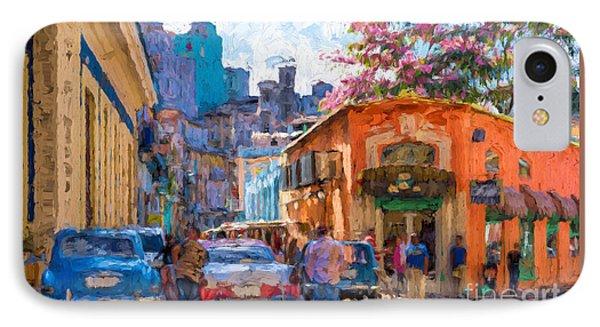 Havana In Bloom IPhone Case by Les Palenik