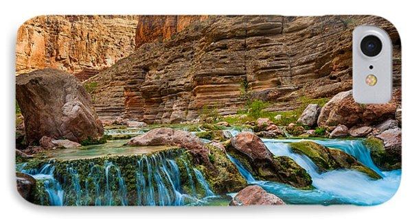 Havasu Creek Cascade IPhone Case by Inge Johnsson