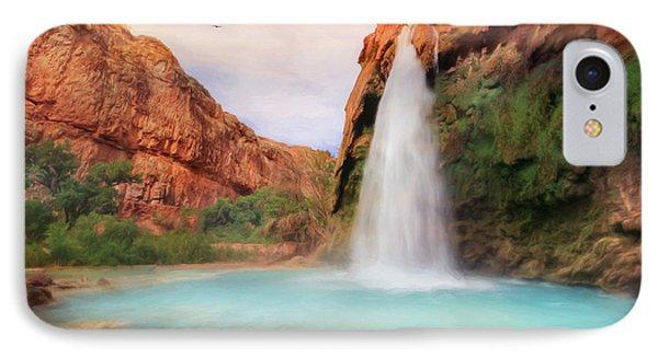 Havasu Falls IPhone Case by Lori Deiter