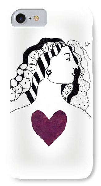 Have A Heart IPhone Case by Helena Tiainen