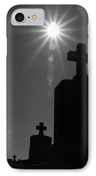 Have Faith...bw Phone Case by Karol Livote