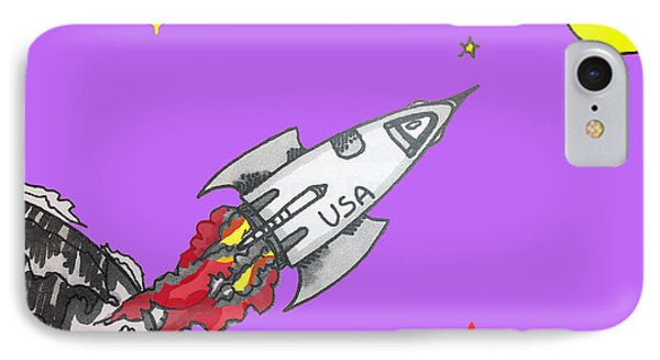 Have Spacesuit Will Travel IPhone Case