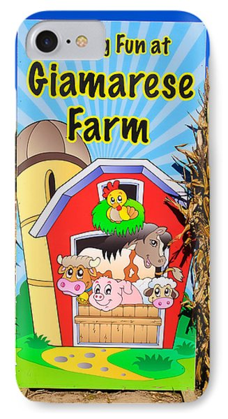 Having Fun On The Farm IPhone Case