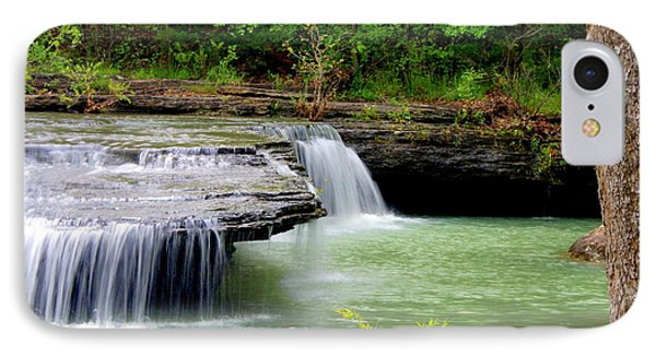 Haw Creek Falls Phone Case by Marty Koch