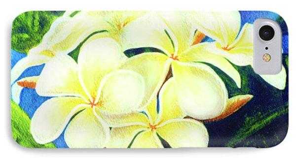 Hawaii Tropical Plumeria #158 Phone Case by Donald k Hall