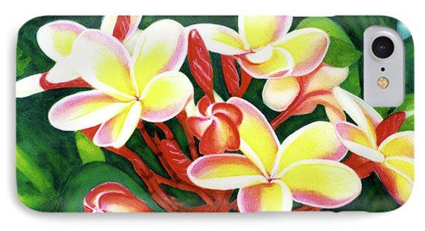 Hawaii Tropical Plumeria Flower #205 Phone Case by Donald k Hall