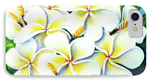 Hawaii Tropical Plumeria Flower #224 Phone Case by Donald k Hall