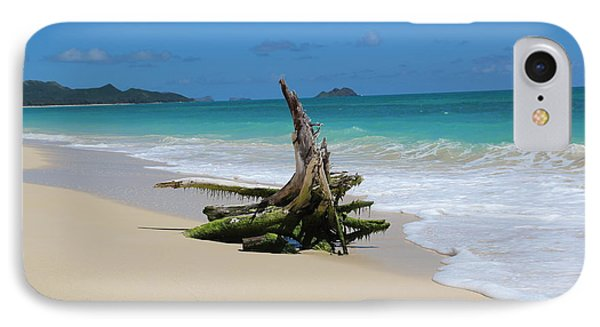 Hawaiian Beach Phone Case by Anthony Jones