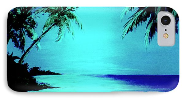 Hawaiian Beach Art Painting #188 Phone Case by Donald k Hall