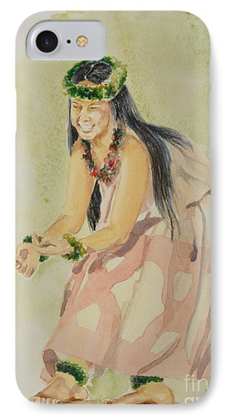 Hawaiian Dancer Phone Case by Gretchen Bjornson