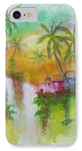 Hawaiian Homestead In The Valley #460 Phone Case by Donald k Hall