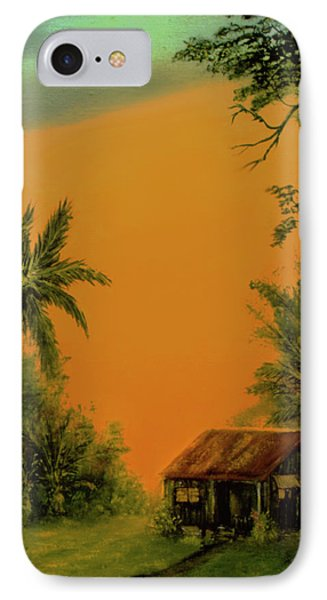 Hawaiian Homestead Sunset #05 Phone Case by Donald k Hall